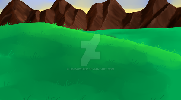 Background - Chapter 22 - Golden-Star Meadow by JB-Pawstep
