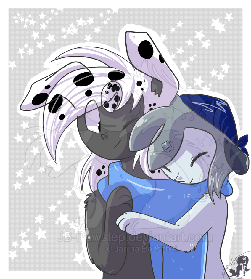 Winter Pals by JB-Pawstep