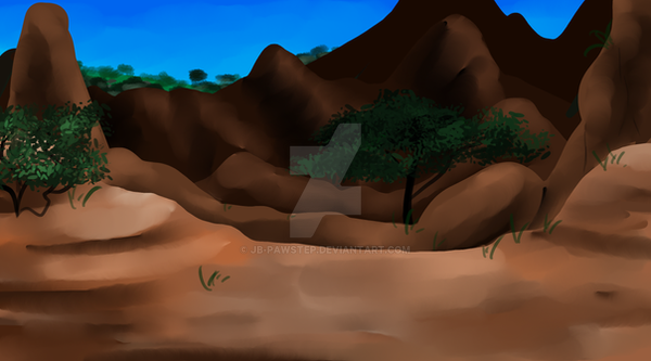 Mountain Background - Chapter 22 and 23 by JB-Pawstep