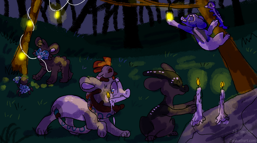 Evoloon - Glow Festival - Part 1 by JB-Pawstep