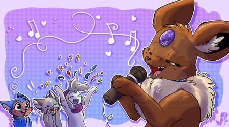 Sing Contest by JB-Pawstep