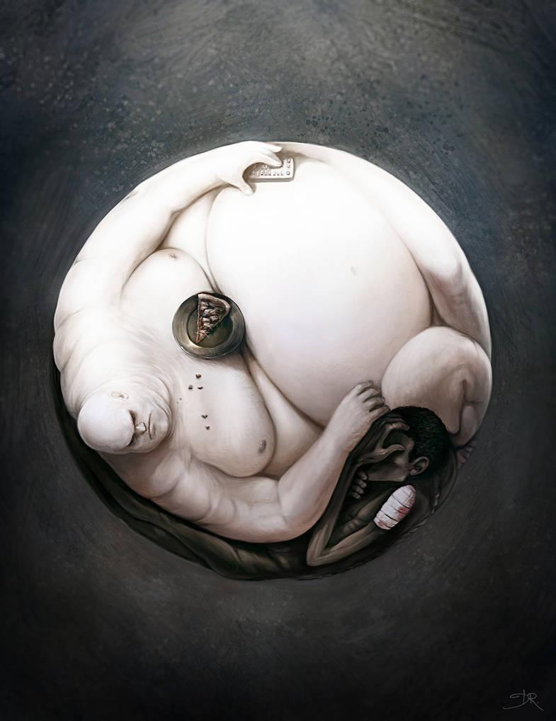 Yin Yang of World Hunger