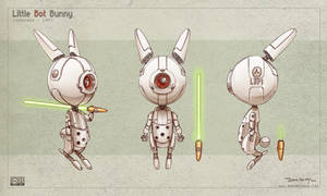Little Bot Bunny by Deevad