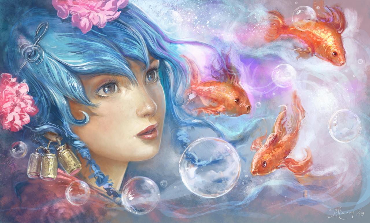 Aqua Dream by Deevad