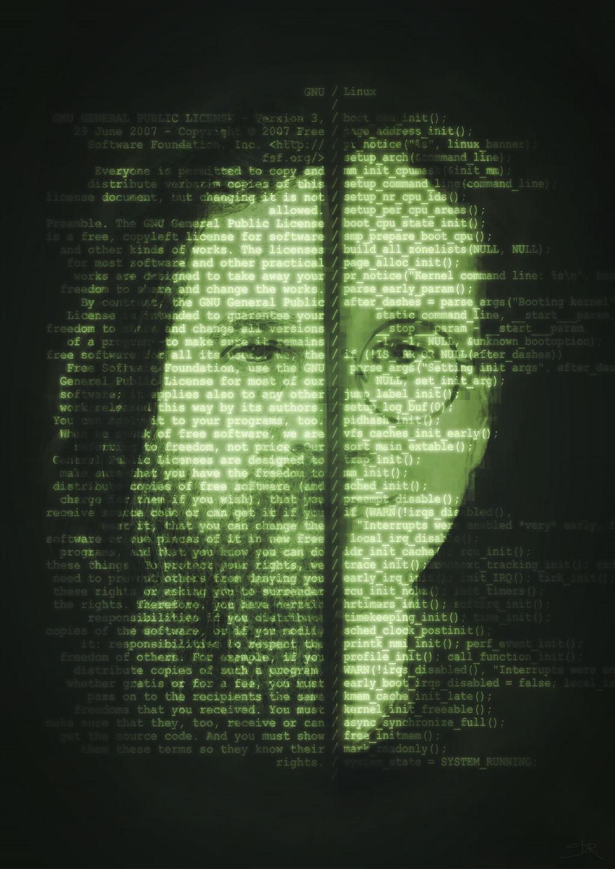 GNU/Linux Portrait