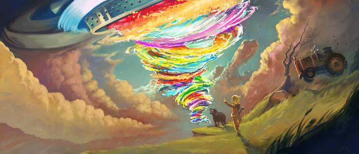 Tornado concept-art - Cosmos Landromat