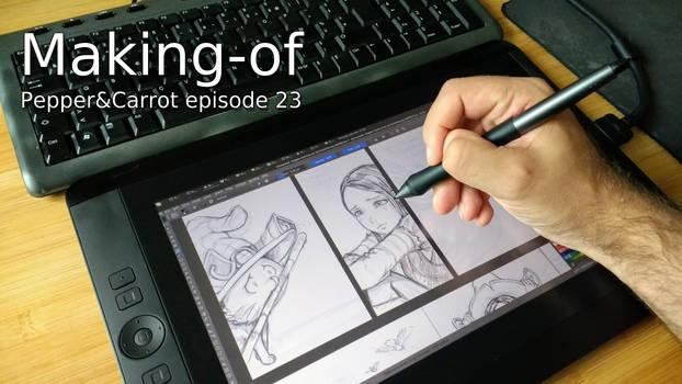 Making of episode 23