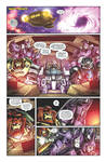 Transformers: Dark Cybertron 01 colors page 1