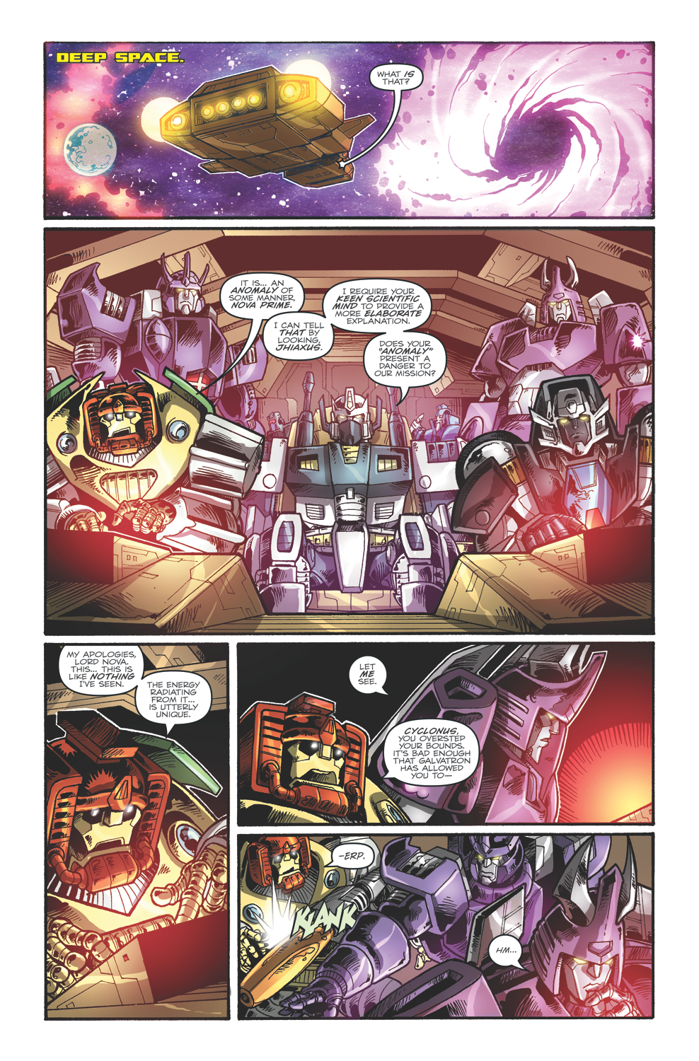 Transformers: Dark Cybertron 01 colors page 1 by curiopraxis
