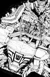 Transformers: Dark Cybertron 01 - Inks Page 4
