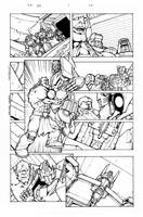 Transformers: Dark Cybertron #1 Page 14 by curiopraxis