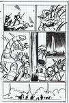 Transformers: Dark Cybertron #1 Page 17 Layouts