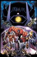 Transformers: Dark Cybertron #1 Cover A Art by curiopraxis