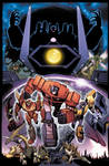 Transformers: Dark Cybertron #1 Cover A Art