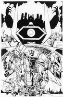 Transformers: Dark Cybertron #1 Cover A Inks by curiopraxis