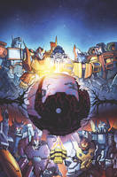 Transformers: Dark Cybertron #1 Sub Cover Art by curiopraxis