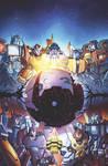 Transformers: Dark Cybertron #1 Sub Cover Art