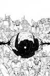 Transformers: Dark Cybertron #1 Sub Cover Inks