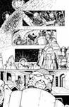 Transformers: Dark Cybertron #1 Page 7 Inks
