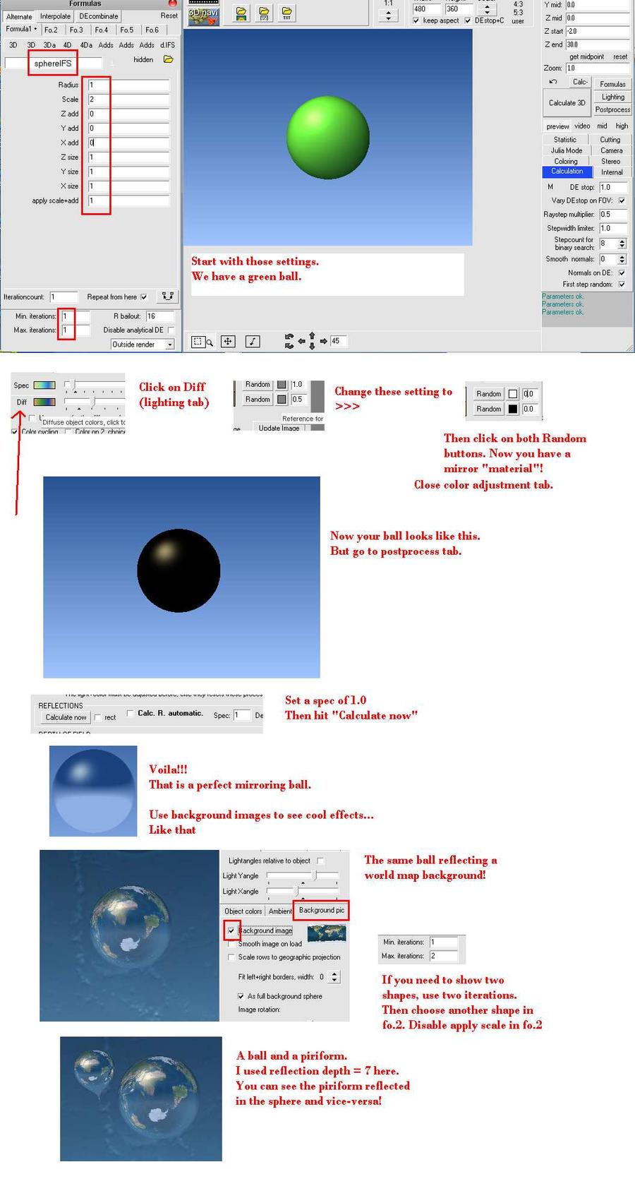 100percent mirroring setting in MB3D