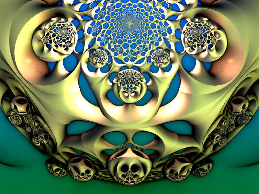 Escher's beehives by dark-beam
