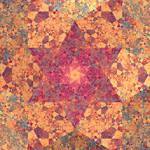 Alhambra crystallized rose
