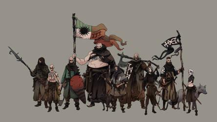 THE GRIM PERCHTA - mercenaries