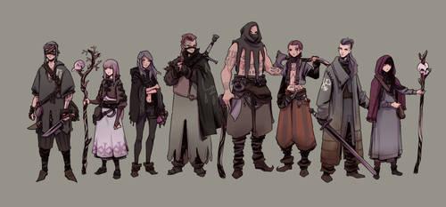 THE GRIM PERCHTA - mercenaries and mages