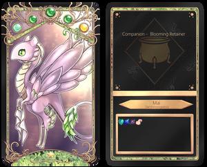 [The Cauldron] Blooming Retainer - Companion