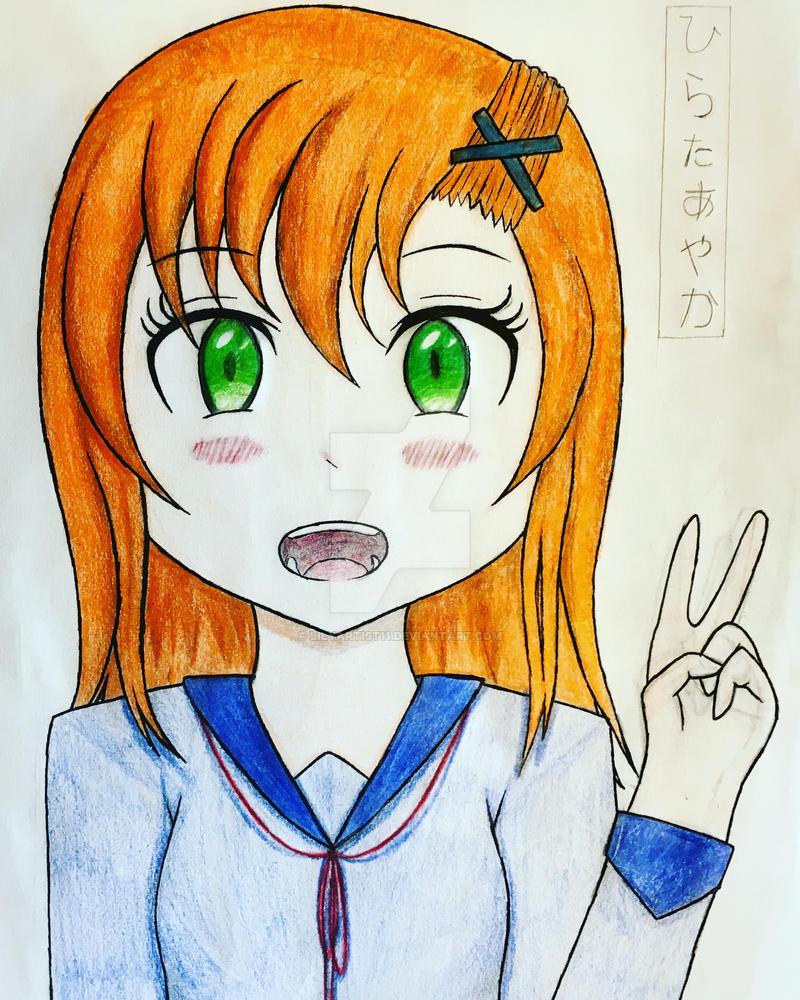New Manga - OC Bio - Hirata Ayaka by LilyArtist11