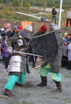 Reconstruction of knightly tournaments