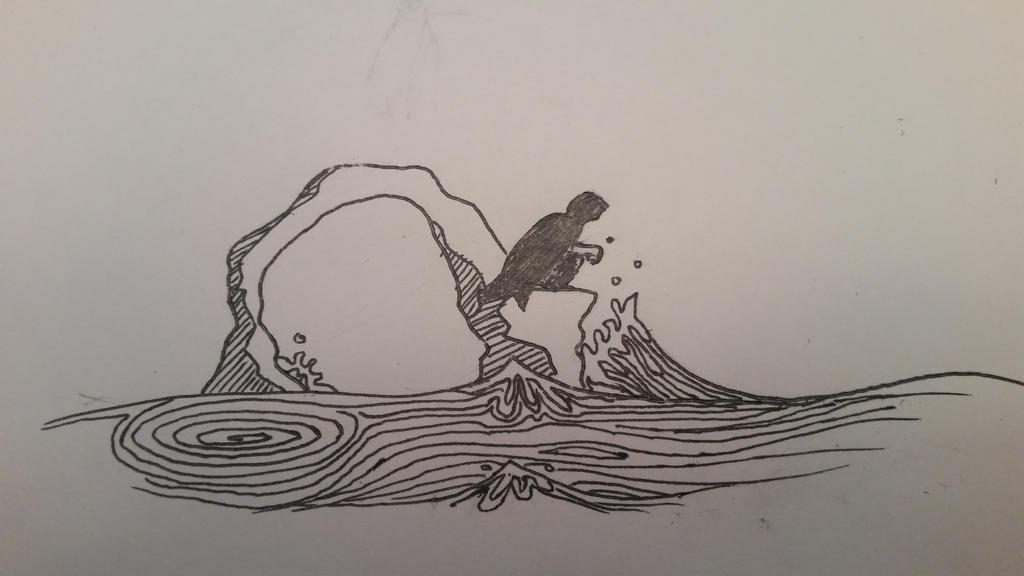water sketch by bananograms