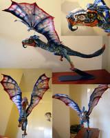Dragon Sculpture by Chrissyboyuk