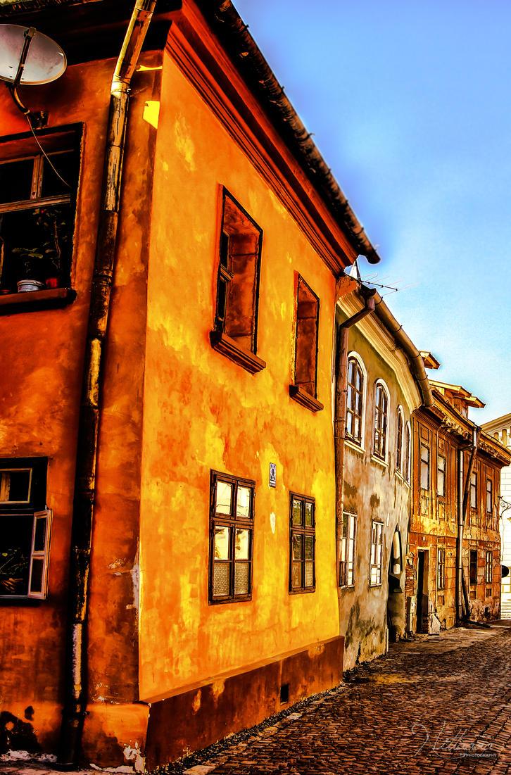 Just a street. by Nittaaaa