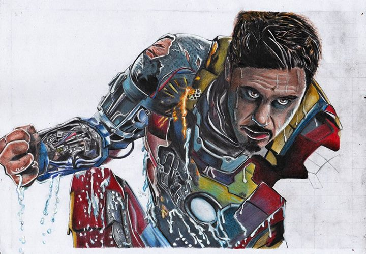 Iron Man by emiely