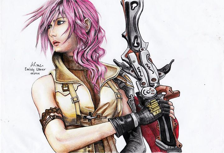 Lightning by emiely