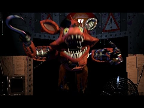 Jump scare foxy by naruto1700 on deviantart