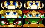 Mario - Persona Eyes Set 1