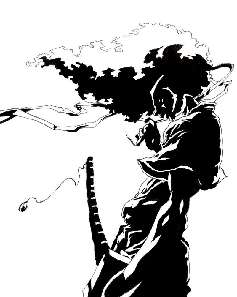 Afro Samurai Drawings Afro Samurai 2