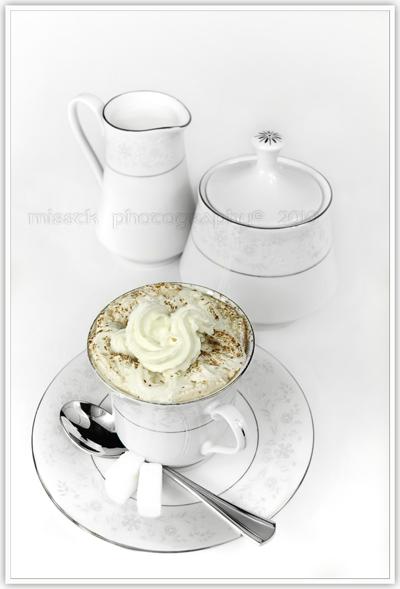 Coffee with cream by shatinn