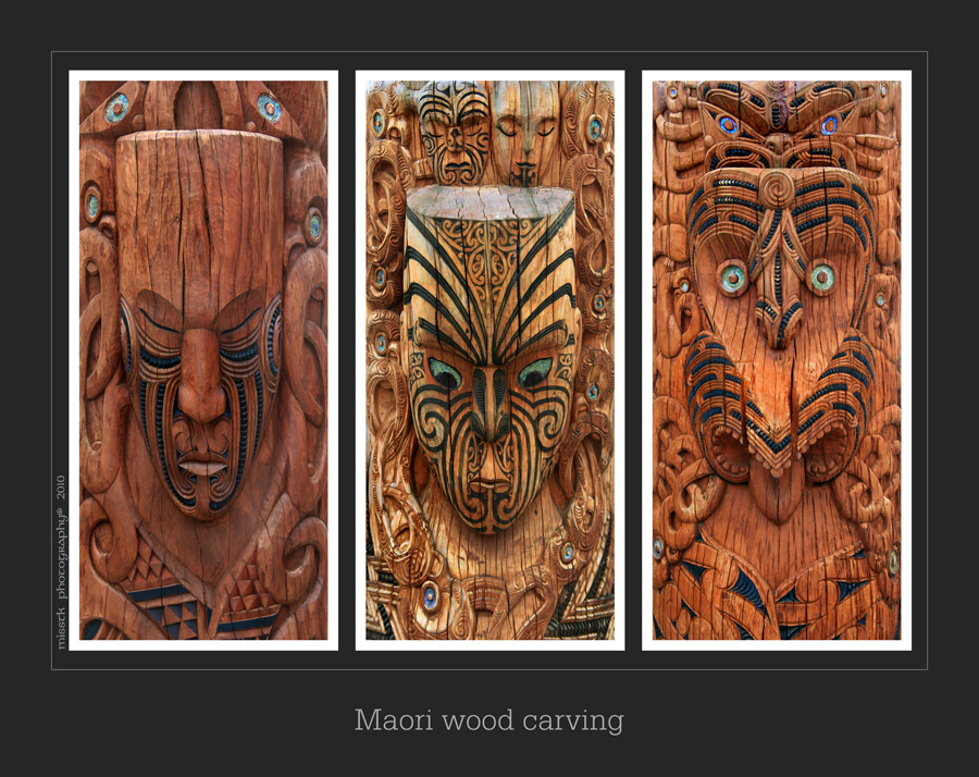 Maori wood carving panels by shatinn on deviantart