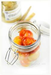 Yellow cherries by shatinn