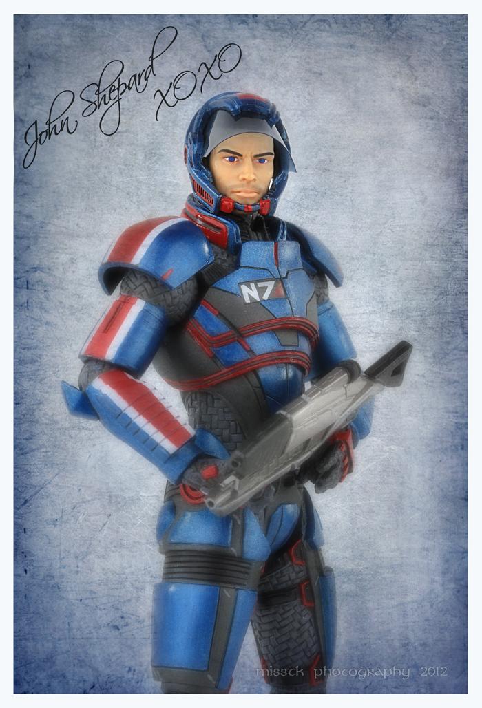 Shepard XOXO by shatinn