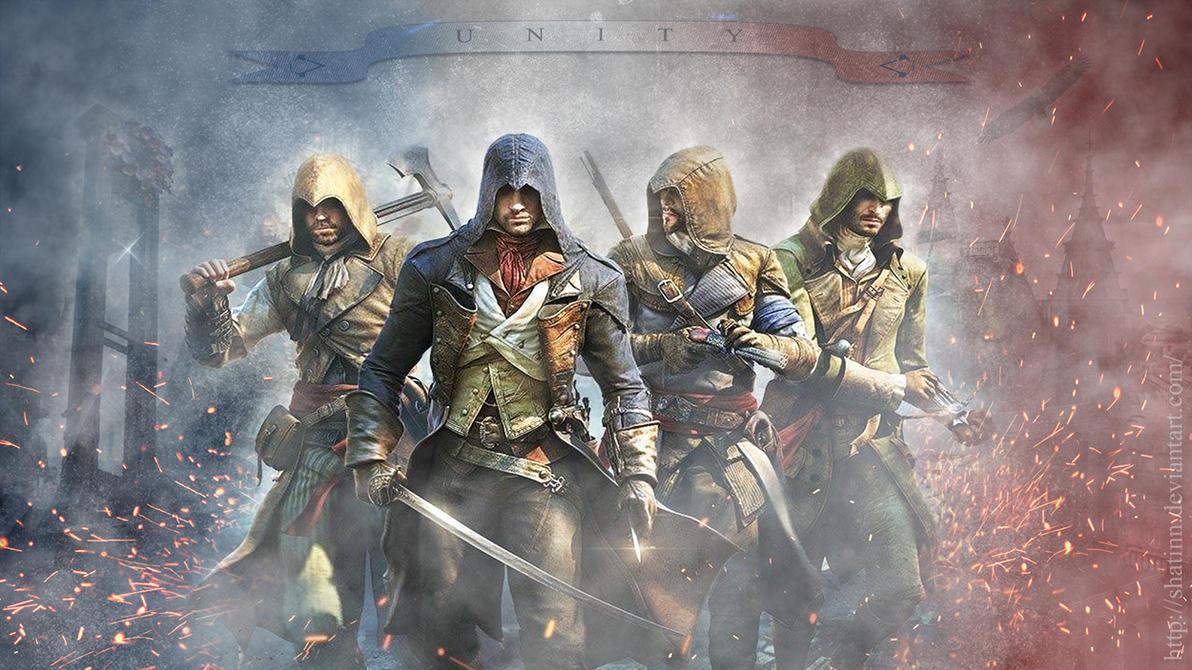 Ac unity wallpaper by shatinn on deviantart - Assassin s creed unity wallpaper ...