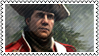 Haytham stamp in redcoat by shatinn