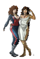 Commission: Fluke and Tyche by StefanoMarinetti