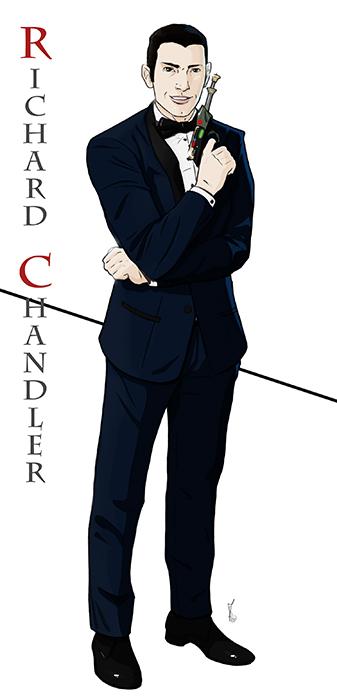 Commission: Richard Chandler by StefanoMarinetti