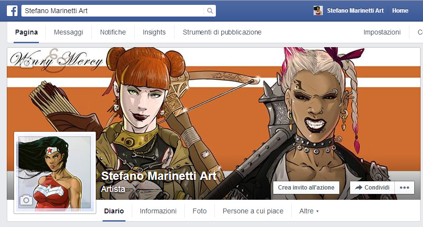 Fb by StefanoMarinetti