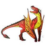 Commission: [WHA] Dragon