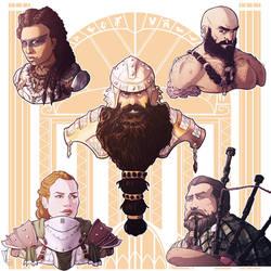 Commission: Dwarves